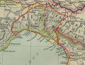 Luceria - Northwest Italy around AD 100