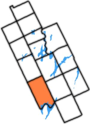 Mariposa Township, Ontario - Mariposa Township within Kawartha Lakes