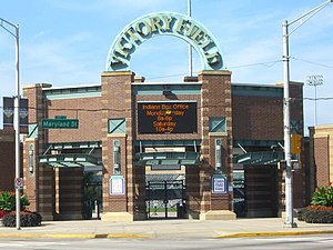 Victory Field - Entrance to Victory Field