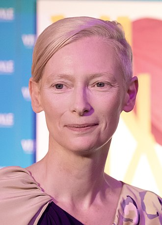 Tilda Swinton - Swinton at the 2018 Vienna International Film Festival.