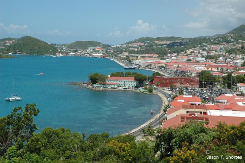 St Thomas Virgin Islands Size