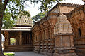 View from the rear facing the gopura in the Someshwara Temple at Kolar.jpg