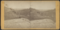 View looking south-east on the Trestle Bridge, at East Tarry Town, N.Y. on the New York, Boston & Montreal Railway, from Robert N. Dennis collection of stereoscopic views.png