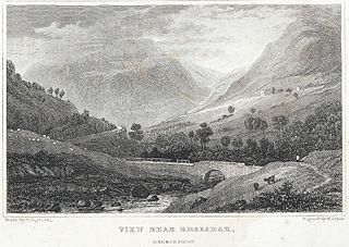 View near Rhaiadar, Radnorshire