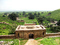 View of Bhangarh Area from Bhangarh Fort Roof.jpg