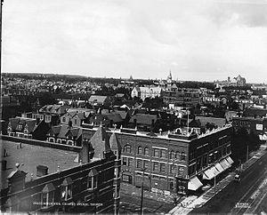 College Street (Toronto) - View of College Street, 1897