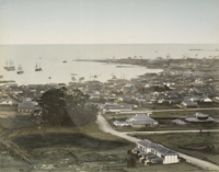 Hyōgo Port in the 19th century