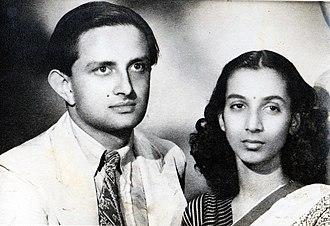 Vikram Sarabhai - Vikram and Mrinalini Sarabhai c. 1948