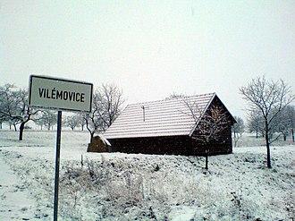 Vilémovice (Blansko District) - Image: Vilemovice 00236
