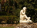 Villa Giulia, una estatua, Palermo, Sicilia, Italia, 2015.JPG