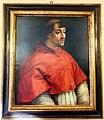 Villino banca federico del vecchio, int., rirtratto del cardinale giulio de' medici del XVI sec. (da raffaello).JPG