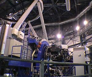 Visible Multi Object Spectrograph - VIMOS attached to VLT's Melipal (UT3)