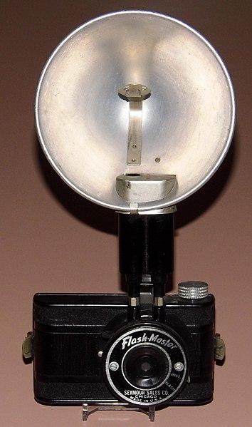 Vintage flash gun