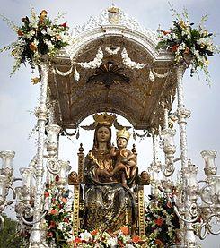 Resultado de imagen de Hermandad de Nuestra Señora de la Bella lepe