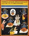 Vishnu sahasranama manuscript, c1690.jpg