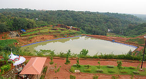 Vismaya - Rainwater reservoir at Vismaya park