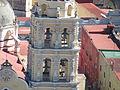Vista del campanario del Templo de la Natividad de Nuestra Señora desde el Cerro de San Miguel, Atlxico.JPG