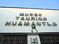Vista frontal de la entrada del Museo Taurino en Huamantla.JPG