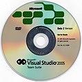 Visual Studio 2005 Beta 2 Team Suite DVD.jpg