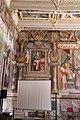 Viterbo, palazzo dei priori, sala regia o erculea, con affreschi di baldassarre croce, 07.jpg
