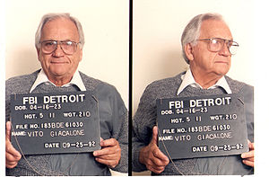 Detroit Partnership - Detroit Partnership member Vito Giacalone in 1992.