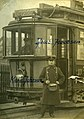 Vognfører Jacob Jakobsen og kontrollør Karl Johnsen (1913) (4271493690).jpg