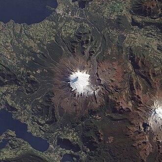 Villarrica (volcano) - Image: Volcan Villarrica, Southern Chile