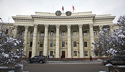 Volgograd - Building of Regional Committee of KPSS and Executive Committee 002.jpg