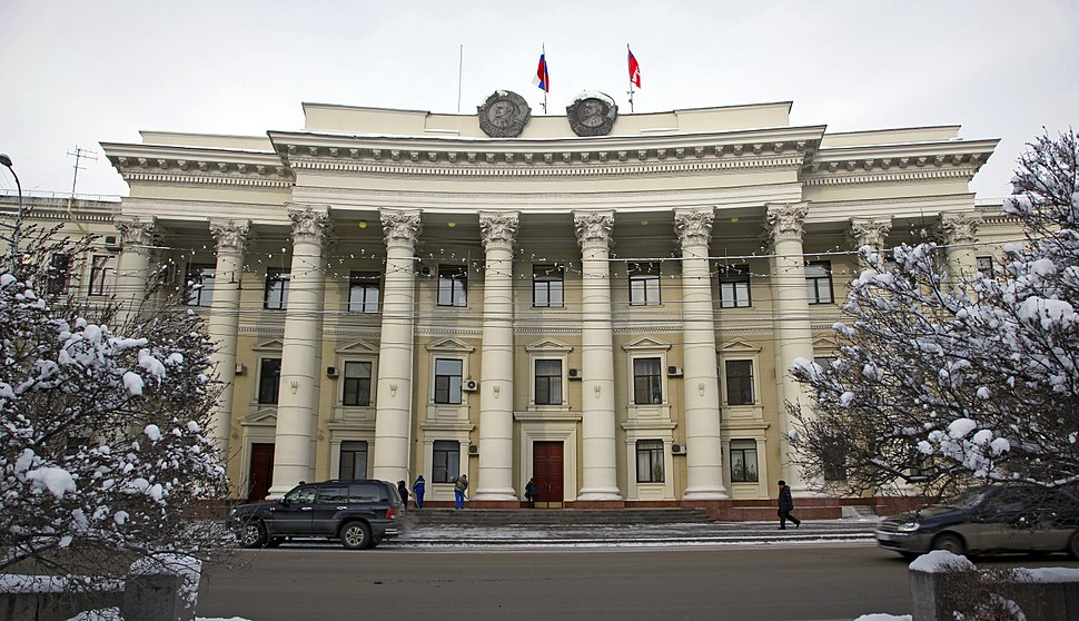 Volgograd - Building of Regional Committee of KPSS and Executive Committee 002