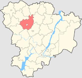 Mikhaylovsky District, Volgograd Oblast - Image: Volgogradskaya oblast Mikhaylovsky rayon