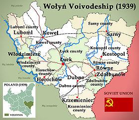 Volhynia 1939 Poland (Województwo Wołyńskie)