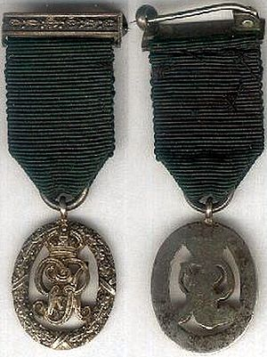 Volunteer Officers' Decoration - King George V version