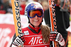 Lindsey Vonn - Vonn in March 2008