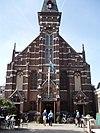 voorkant van lutherse kerk 2 haarlem 19834