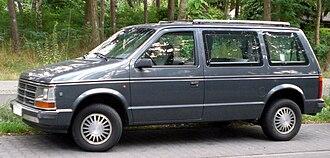 Chrysler minivans (S) - European Chrysler Voyager