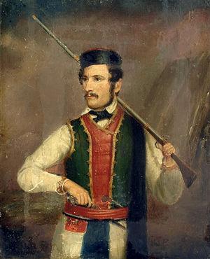 Vukolaj Radonjić - Vukolaj Radonjić (painting by Adam Stefanović)