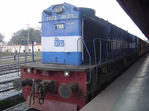 Indian locomotive class WDM-3A - WDM 3D powerhouse of the Dehradun Shatabdi Express