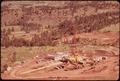 WESTMORELAND COAL COMPANY BEGINS STRIP-MINING OPERATIONS AT SARPY BASIN. A WALKING DRAGLINE TO STRIP COAL IS UNDER... - NARA - 549169.tif