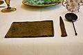 WLANL - MicheleLovesArt - Museum Boijmans Van Beuningen - Gedekte tafel - Eetplankje, mes en soeplepel.jpg