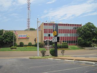 WMC-TV - WMC-TV's current studios and offices at 1960 Union Avenue.