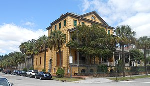 National Register of Historic Places listings in Charleston, South Carolina - Image: W Aiken house