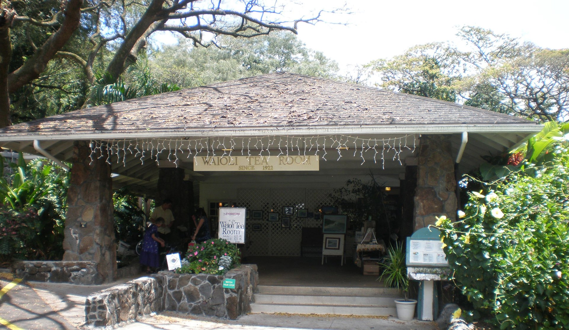 Tea Room Honolulu