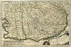 Wallachia no final do século 18