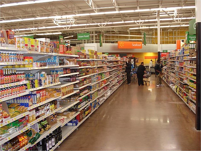 File Walmart Grocery Section Ethnic Foods Aisle Jpg