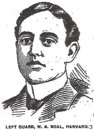 Walter Boal - Ink portrait of Boal, 1899