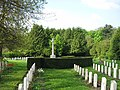 War Graves and Memorial Cross, St Michael's, Halton - geograph.org.uk - 1294121.jpg