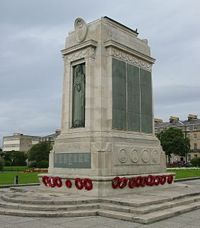 Birkenhead War Memorial grade II listed war memorial in the United kingdom