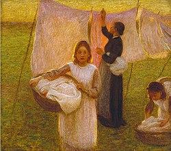 El día del lavado (1906)