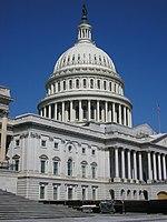 das Kapitol, der Sitz der Legislative der Vereinigten Staaten