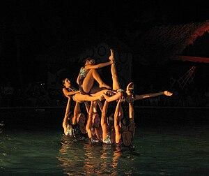 Water Ballet in Guardalavaca, Cuba
